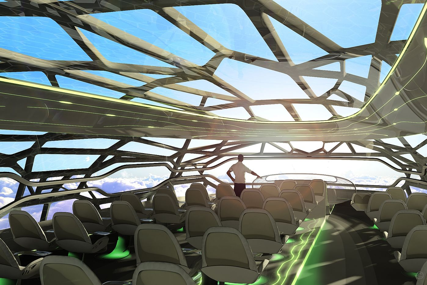 Future Cabin by Airbus - © Airbus