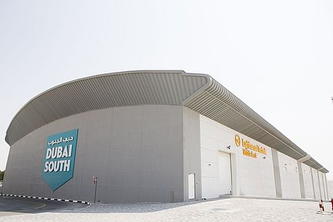 Dubai South Lufthansa Technik Middle East Halle