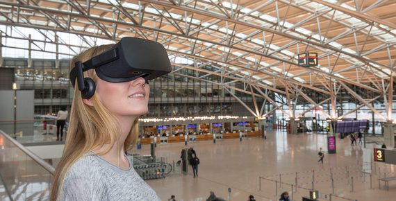 Hamburg Airport Virtual Reality App