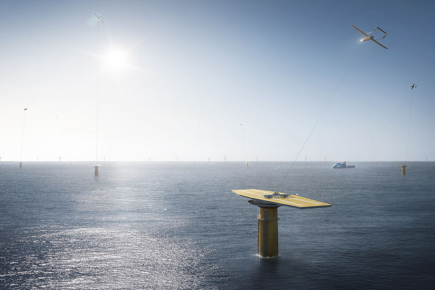 REALISE System for Offshore Wind Energy Harvesting