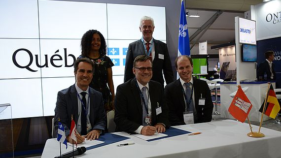 Hamburg and Québec intensify Research Cooperation