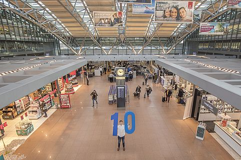 Die Airport Plaza am Hamburg Airport