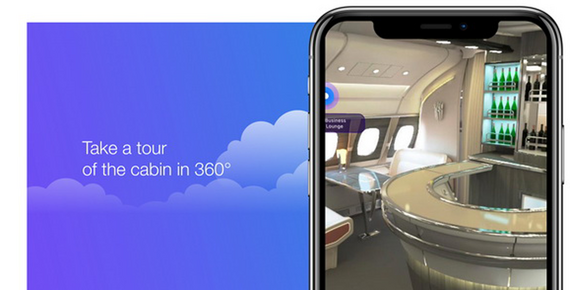 Airbus iflyA380 Augmented Reality