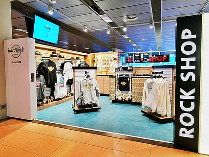 Hard Rock Cafe eröffnet neuen Pop-Up Shop am Hamburg Airport